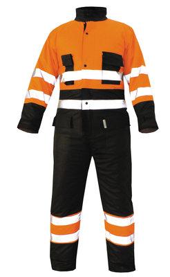 Overall M-Wear 5777 Andres Fluo Oranje/Marineblauw