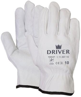Handschoen Officiers Rundnerflederen