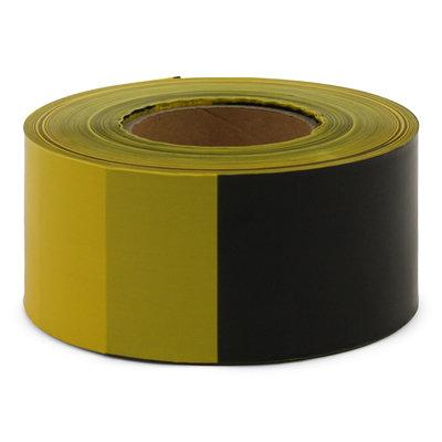 Afzetlint Zwart-Geel